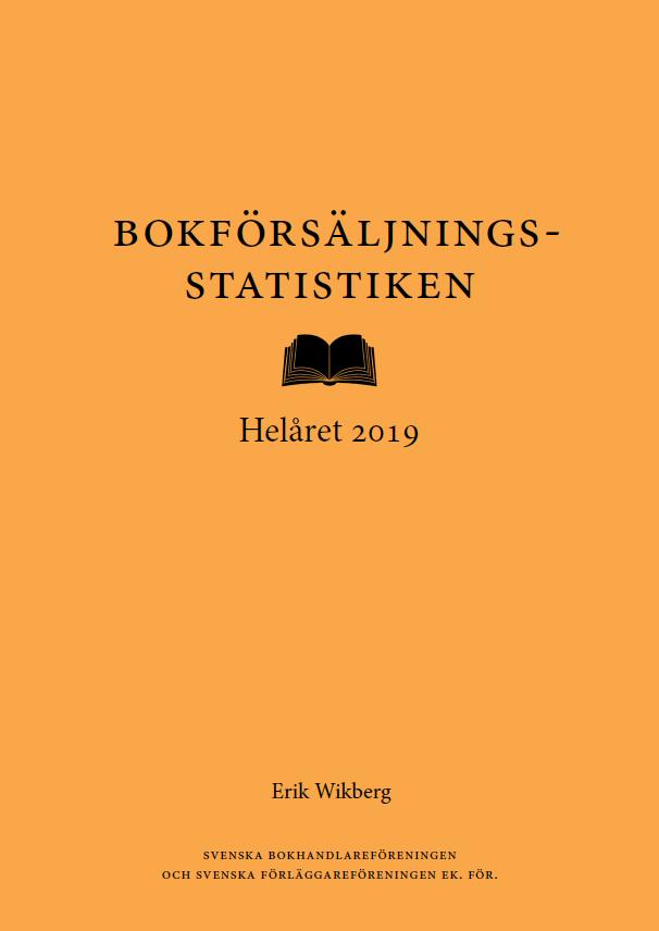 bokförsäljningsstatistiken Helåret 2019